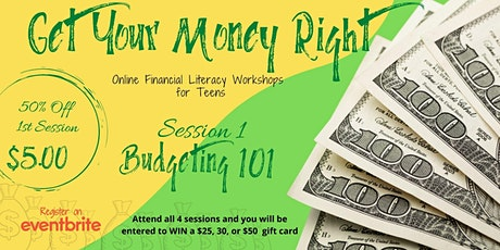 Financial Literacy for Teens: Budgeting Basics tickets