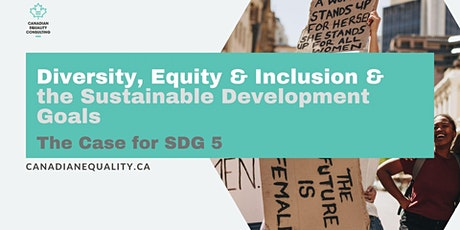 Diversity, Equity & Inclusion & the Sustainable Development Goals tickets