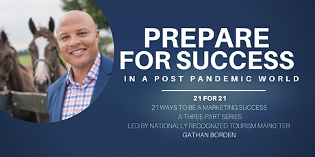 Prepare for Success in 2021:  21 ways to be a marketing success tickets