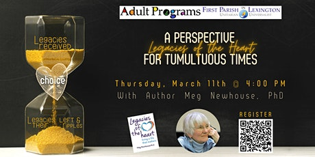 A Legacy Perspective with Dr. Meg Newhouse tickets