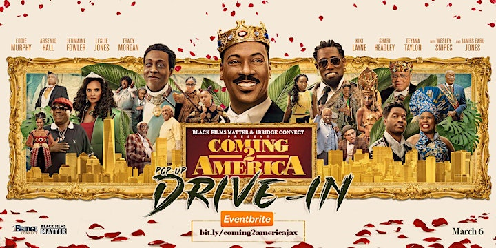 Coming to America 2 - Jacksonville Pop Up Drive-In image