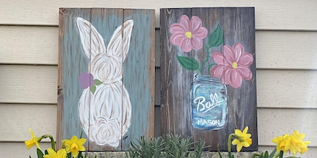 Spring Pallet Painting w/ Pretty in Paint by Tina Walter tickets