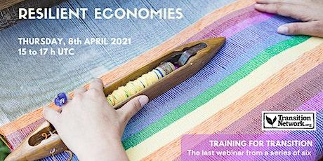 Webinar #6: Resilient Economy entradas