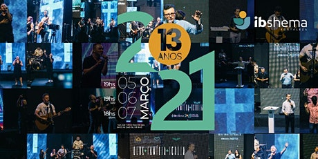 Conferência Shema / Ano da Aliança - 13 anos ingressos
