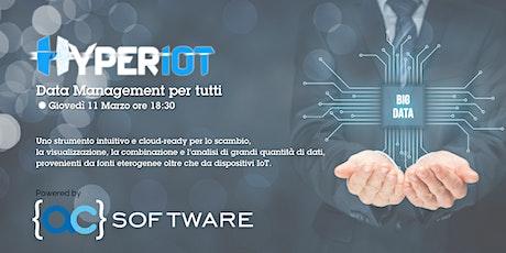 HyperIot: Data Management per tutti! biglietti