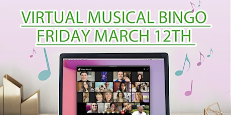 Virtual Musical Bingo - 80s tickets