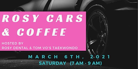 Rosy Cars and Coffee tickets