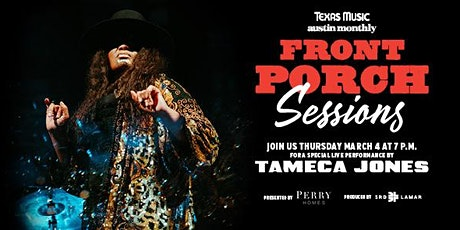 Front Porch Sessions | Featuring Tameca Jones tickets