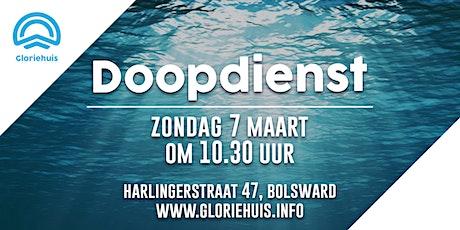 Gloriehuis - Doopdienst tickets