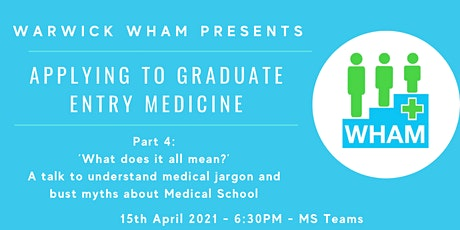 A talk to understand medical jargon and bust myths about Medical School tickets