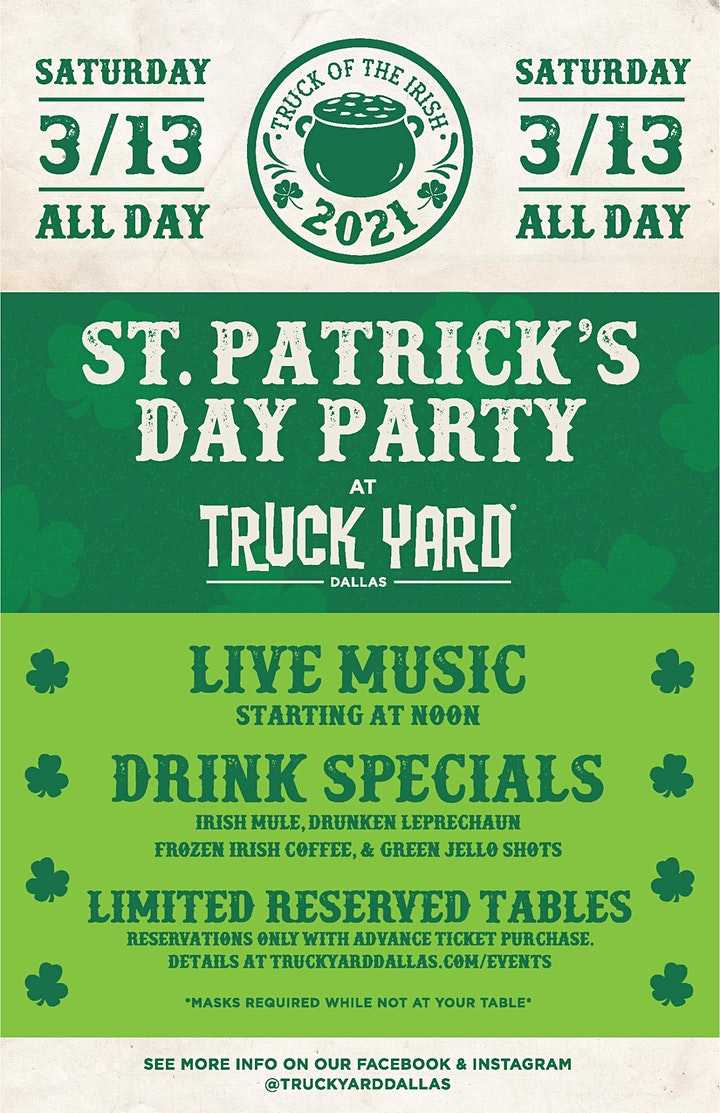 Truck Yard's St Patrick's Party image