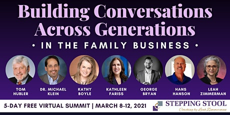 Building Conversations Across Generations in the Family Business tickets