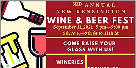 New Kensington Wine & Beer Festival tickets