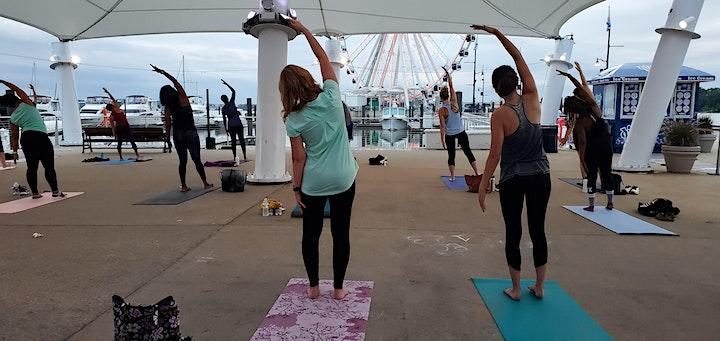 National Harbor Cherry Blossom Yoga & Meditation by Cathy Valentine image