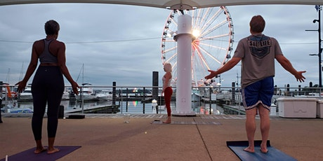 National Harbor Cherry Blossom Yoga & Meditation by Cathy Valentine tickets