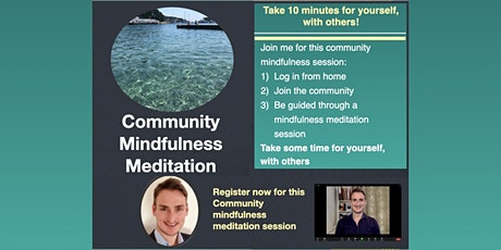 Community mindfulness meditation [ONLINE] tickets