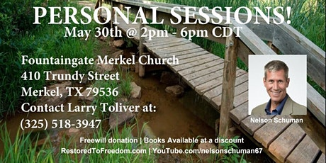 Personal Sessions in Merkel, TX tickets