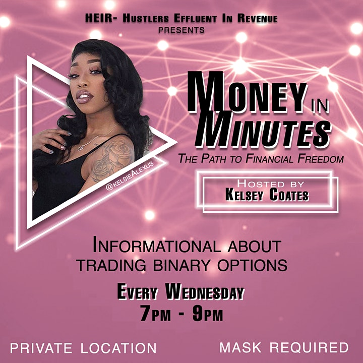 H.E.I.R Presents: MONEY IN MINUTES; The Path to Financial Freedom image