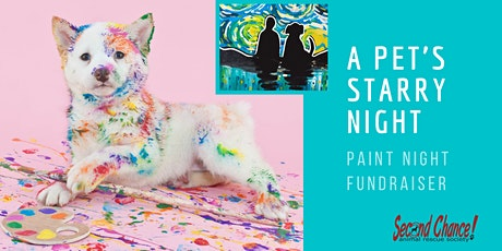 A Pet's Starry Night - SCARS Paint Night Fundraiser tickets