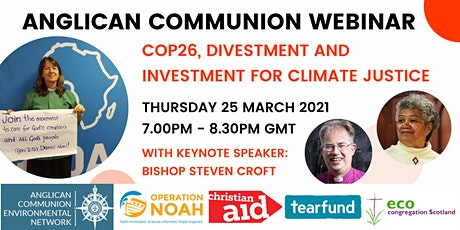 Anglican Communion: COP26, Divestment and Investment for Climate Justice tickets