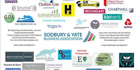 Sodbury & Yate Business Association Networking and AGM tickets