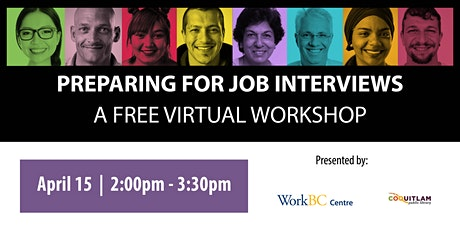 Preparing for Job Interviews: A Free Virtual Workshop tickets