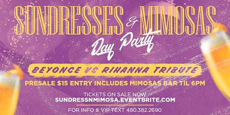 Sundresses  & Mimosas Day Party tickets