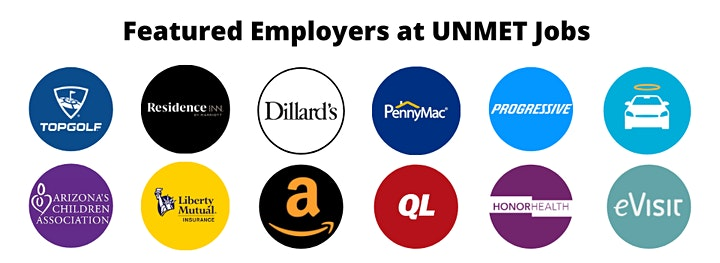 UNMET Jobs Arizona 2021 image