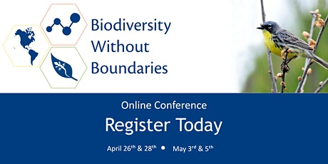 Biodiversity Without Boundaries 2021 Conference tickets