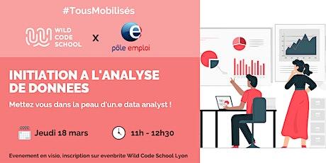 #Tous Mobilisés - Workshop : Mettez vous dans la peau d'un.e data analyst billets