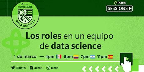 Los roles en un equipo de data science entradas