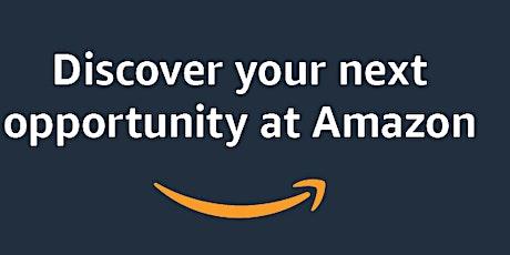 Amazon  - Baltimore Virtual Hiring Info Session tickets