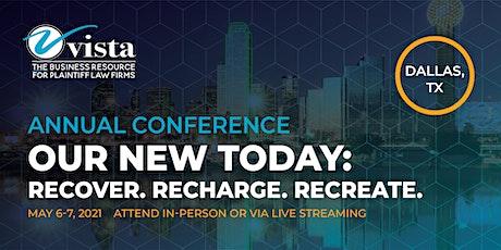 Vista's 2021 Annual Conference tickets