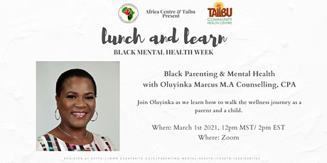 Black Parenting & Mental Health tickets