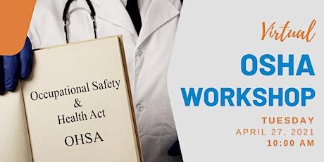 Virtual OSHA Workshop: Cal-OSHA Office Staff Training for the Central Coast biglietti