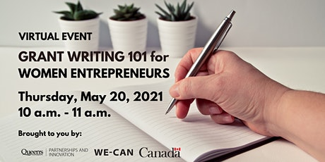 Grant Writing 101 for Women Entrepreneurs tickets
