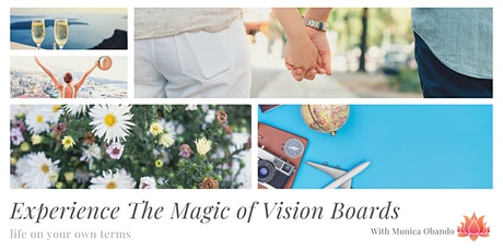 Experience The Magic of Vision Boards tickets