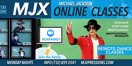 "Michael Jackson ""MJXpressions"" Online Dance Class tickets"
