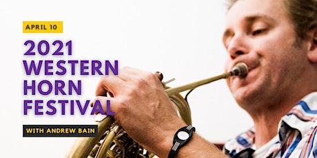 2021 Western Horn Festival tickets