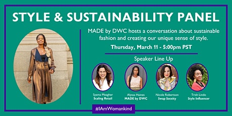 Style & Sustainability Panel tickets