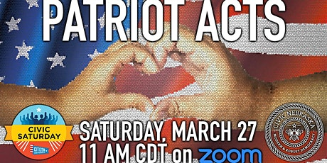 Civic Saturday: Patriot Acts tickets