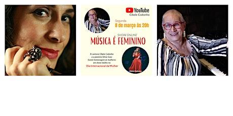 Música é Feminino boletos