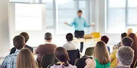 BVIU- A Cultural Shift: Principal and Teacher Training tickets