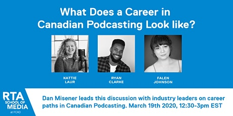 What Does a Career in Canadian Podcasting Look like? tickets