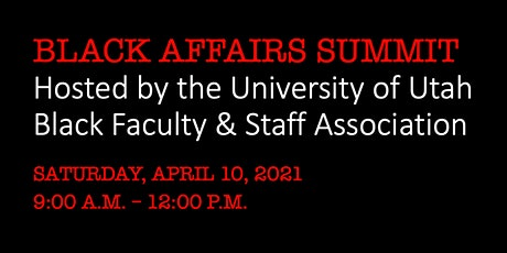 5th Annual State of Utah Black Affairs Summit tickets