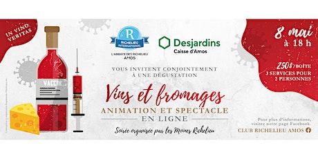 Vins Et Fromages Richelieu 2021 billets