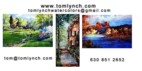 Tom Lynch-ZOOM  1 Series  1, 4-day Virtual Watercolor Workshop tickets