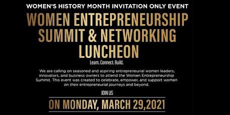 Women Entrepreneurship Summit & Networking Luncheon tickets