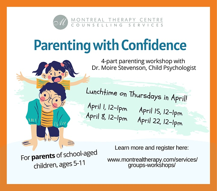 Parenting with Confidence  Lunch Series:  School Aged Children image