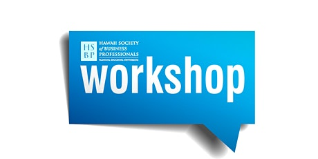Financial Efficiency: an HSBP Workshop event tickets